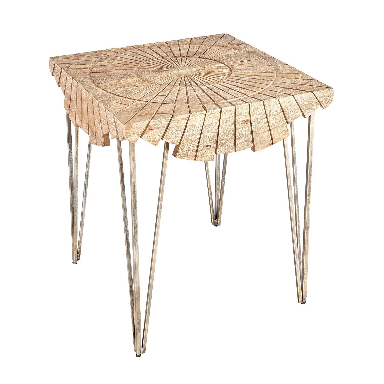 Sunburst Overlay End Table