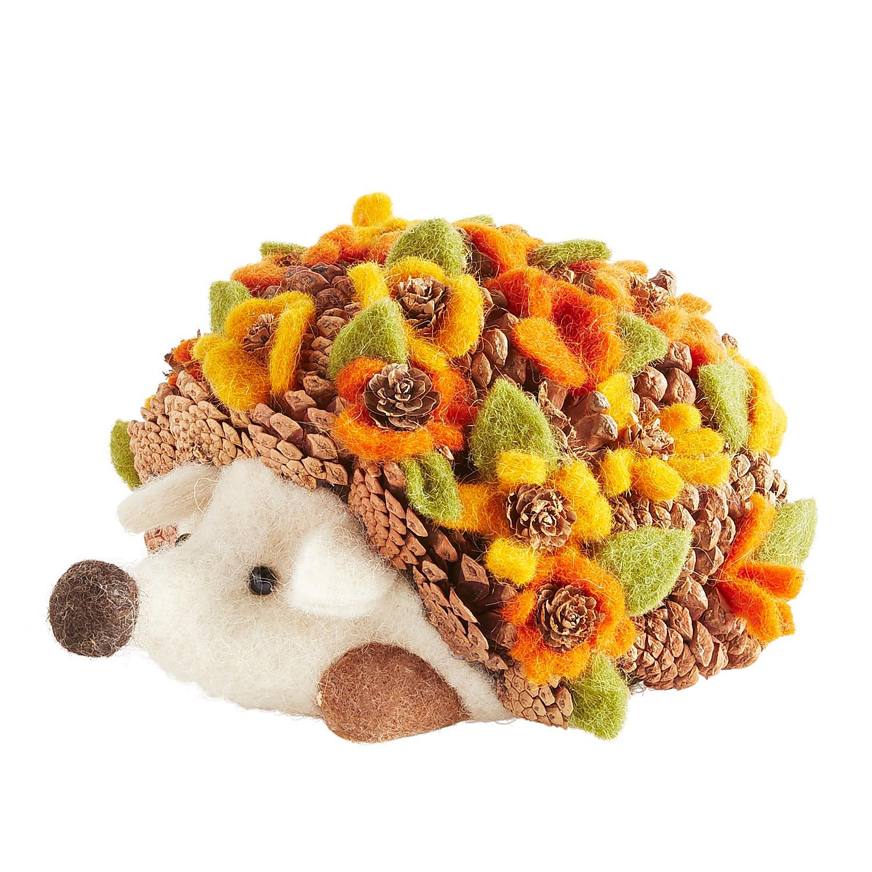 Felt & Pinecone Hedgehog