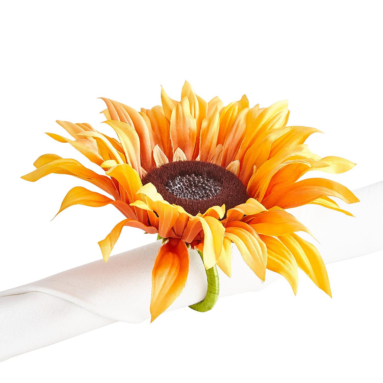 Sunflower Napkin Ring
