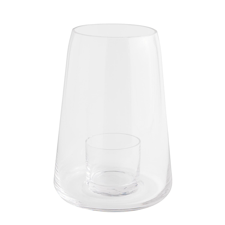 "Glass 11"" Hurricane Candle Holder"