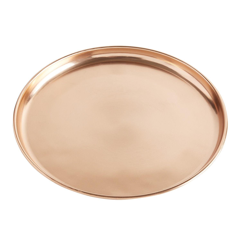 Metal Copper Platter