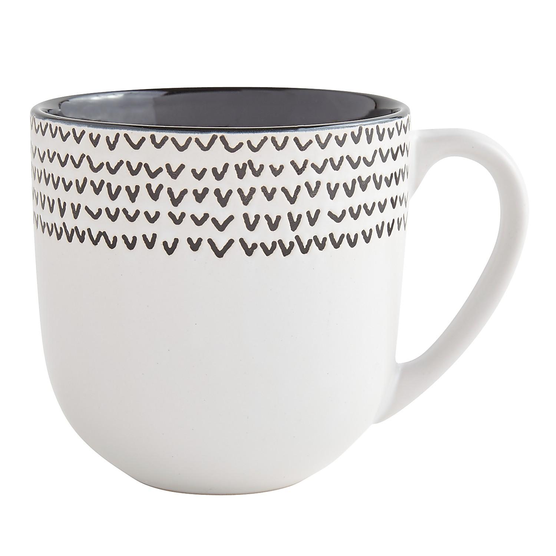 Black & White Arrows Mug