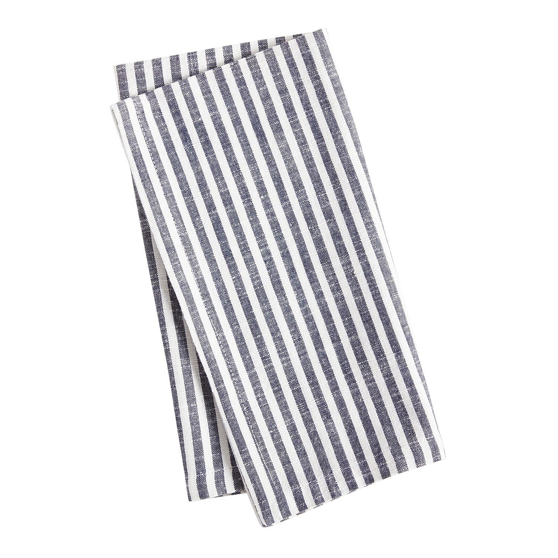 Navy Striped Napkin