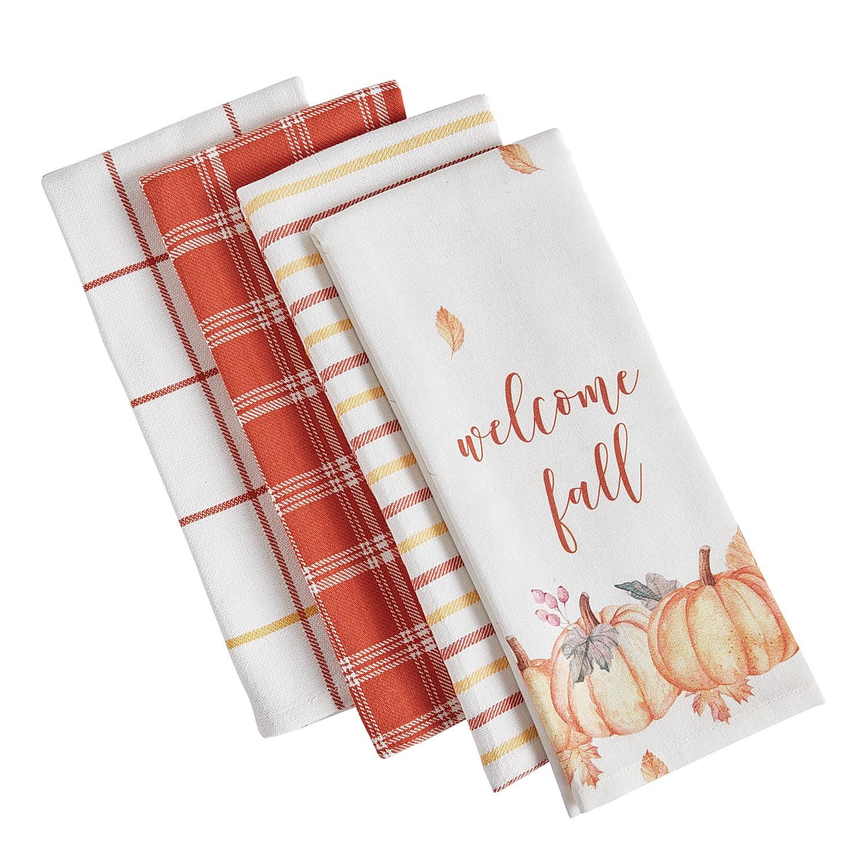 Welcome Fall Tea Towel Set