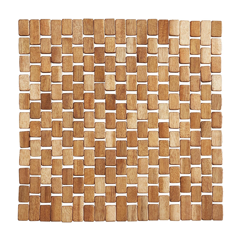 Brown Wood Blocks Placemat
