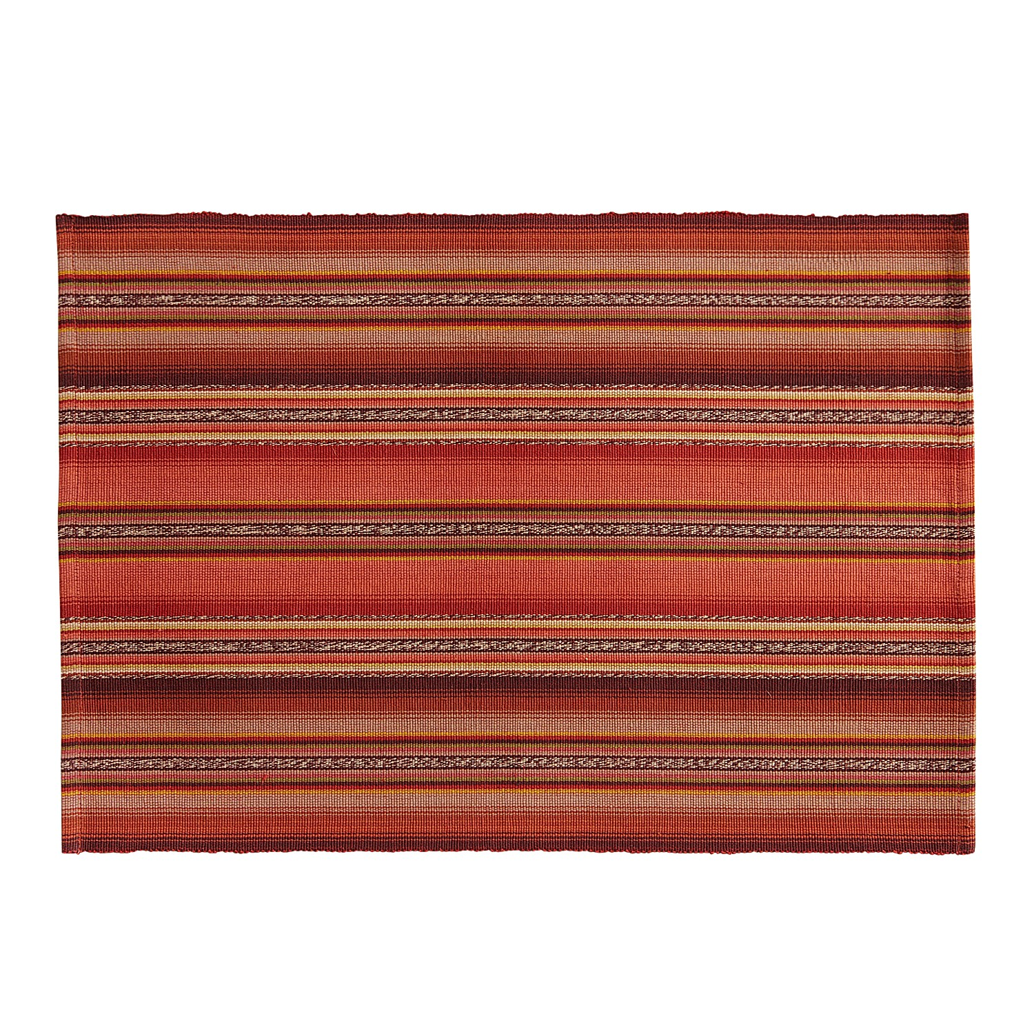 Sunset Striped Placemat