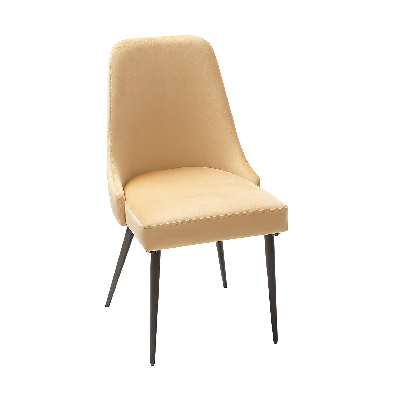 Rissa Gold Velvet Dining Chair