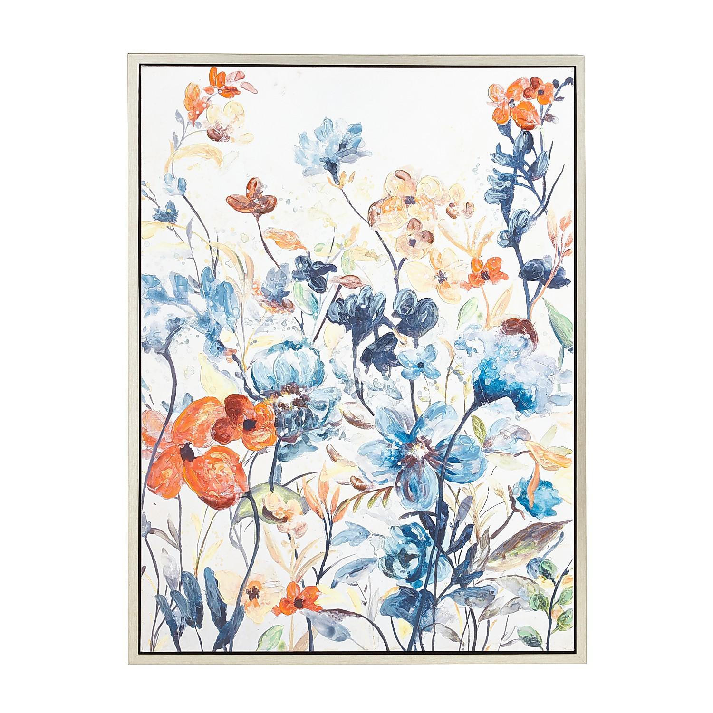 Floral Watercolor Multicolor Art