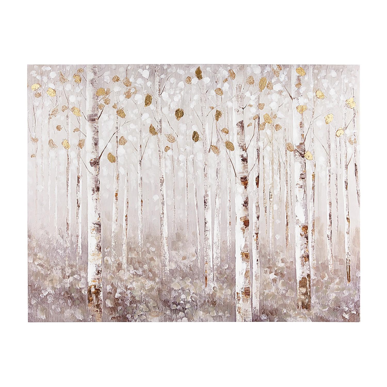 Birch Trees Neutral Wall Art