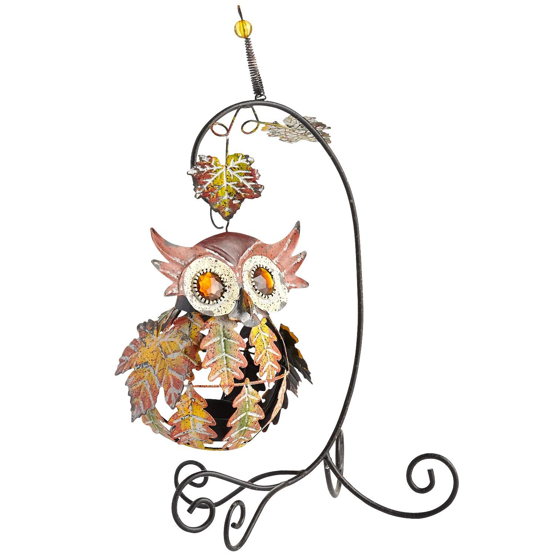 Wide-eyed Owl Tealight Holder