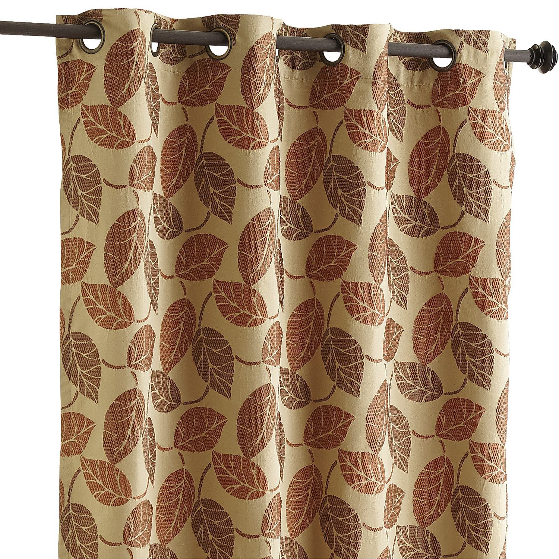 Fremont Leaf Curtain Gold Pier1