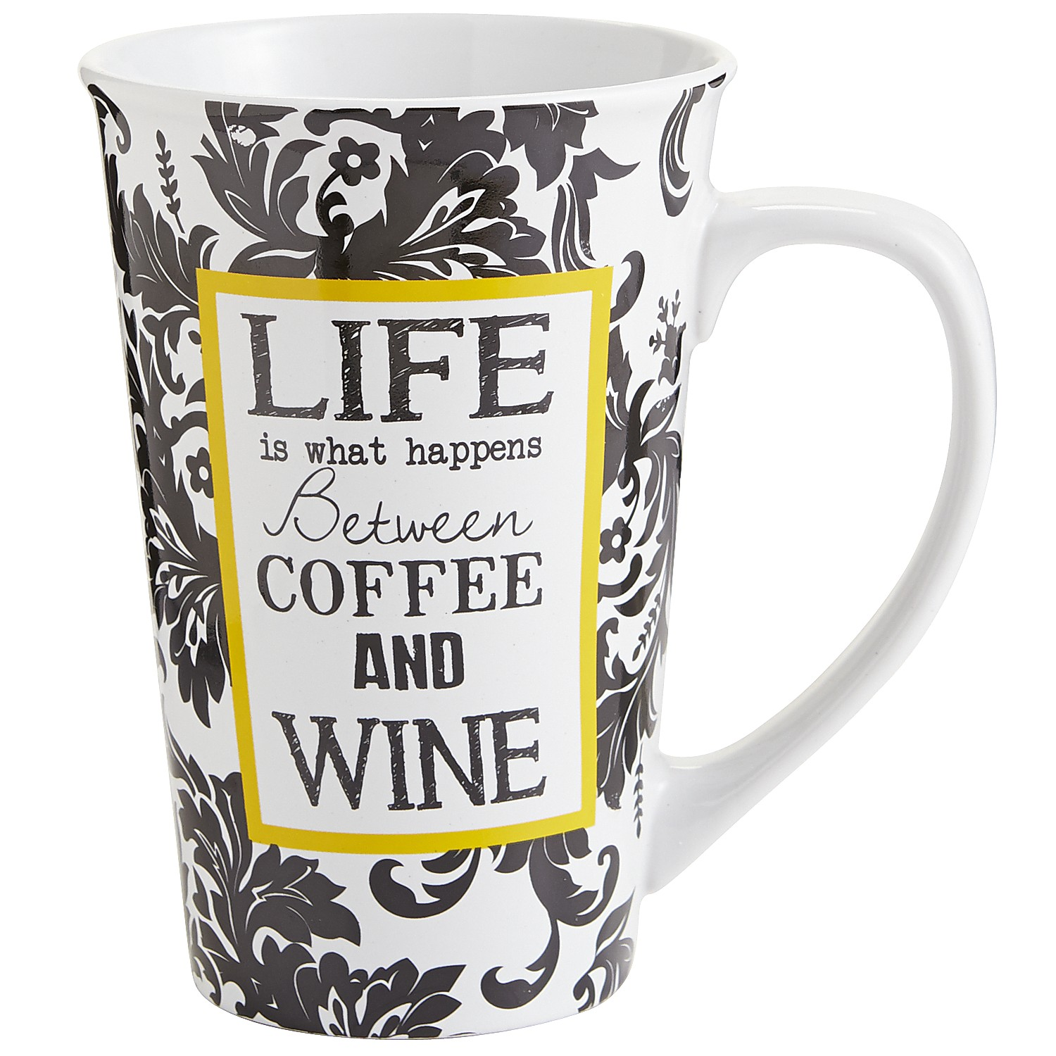 Life Is What Happens Mug
