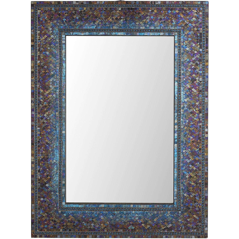 Midnight Ombre Mosaic 30x40 Mirror