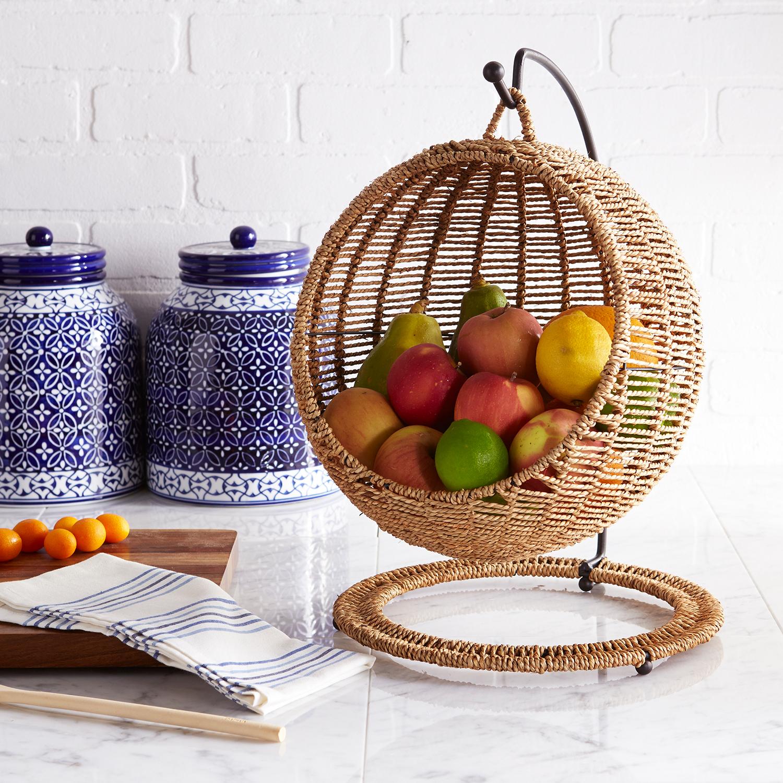 Hand-Woven Fruitasan Fruit Holder