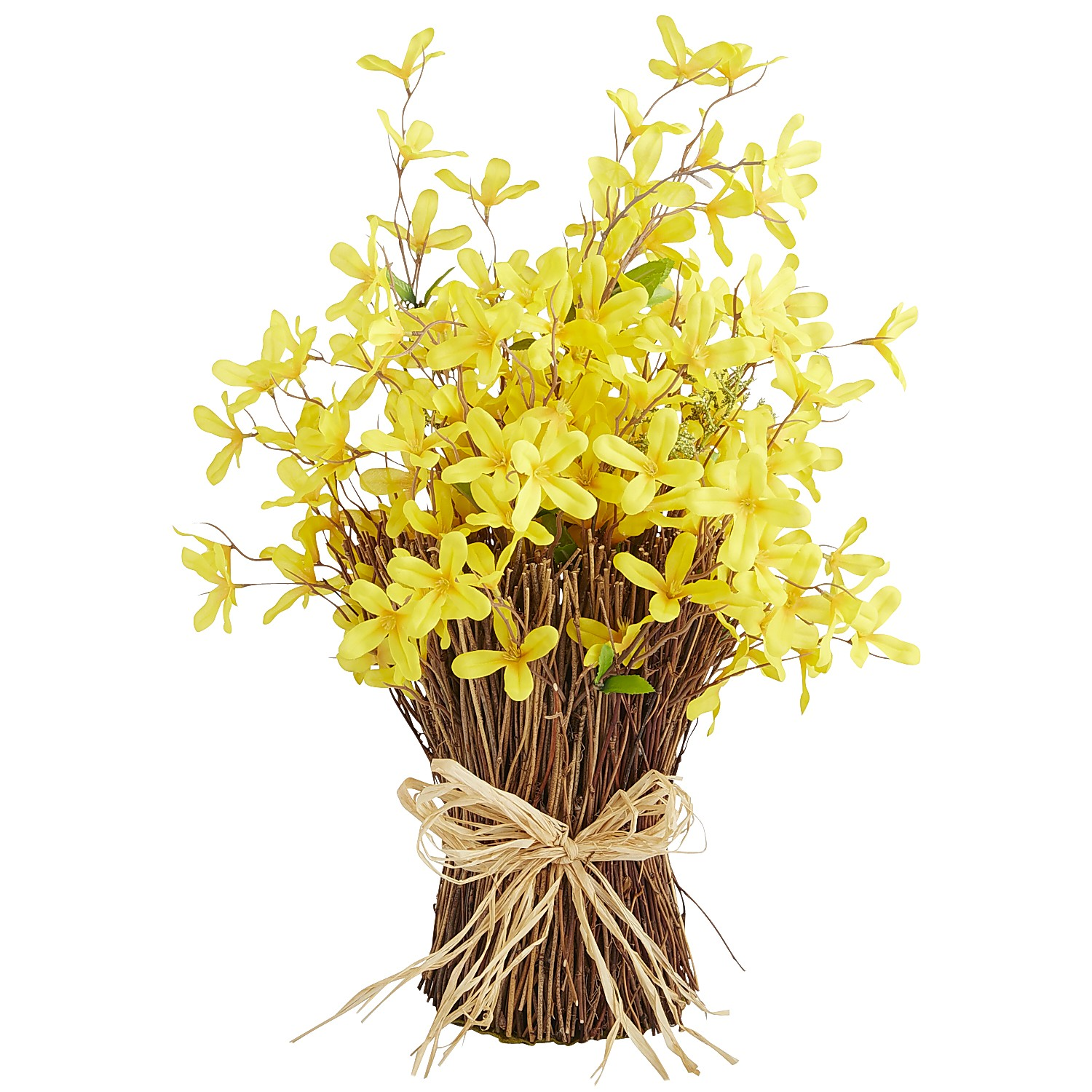 Faux Forsythia Stack