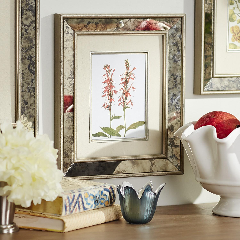Antiqued Mirror Wall Frame - 5x7