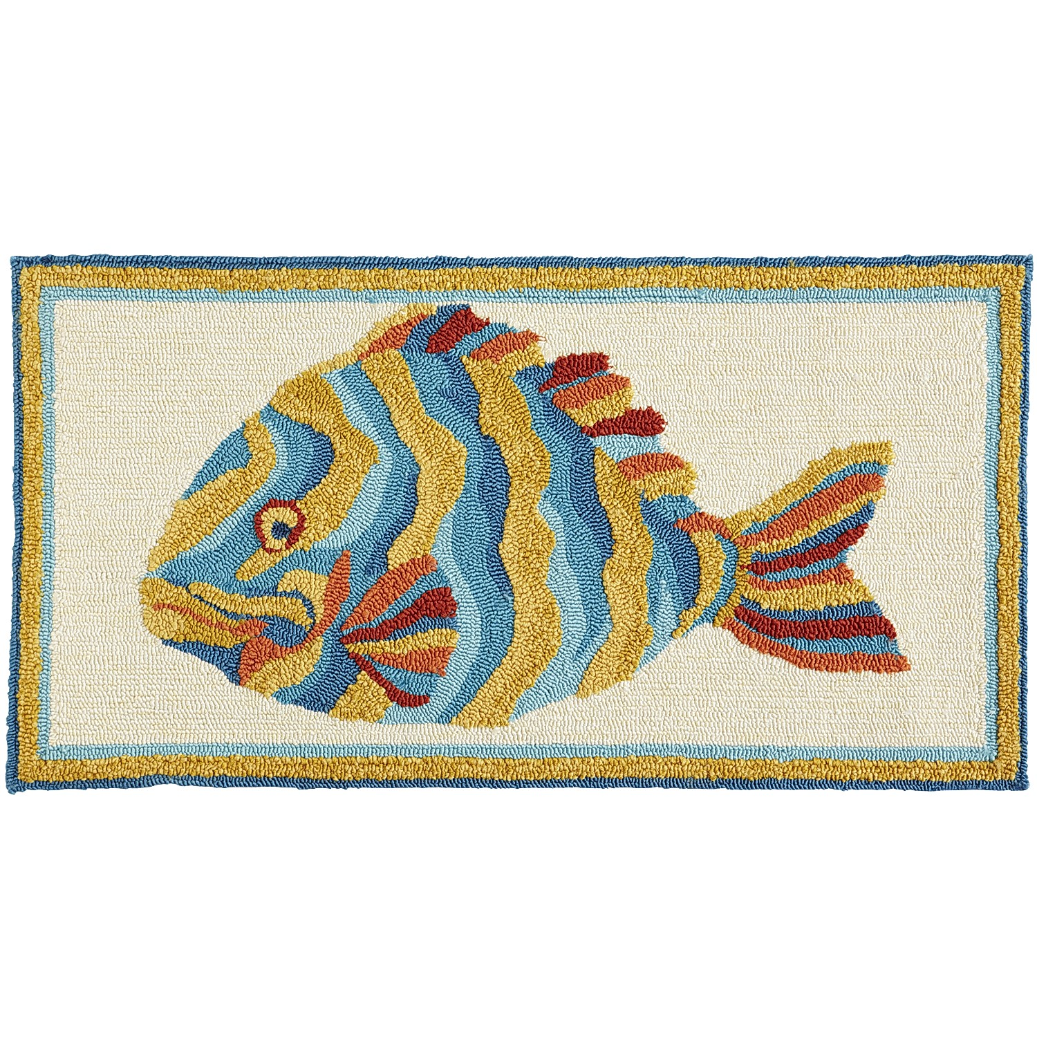 Colorful Fish Rug