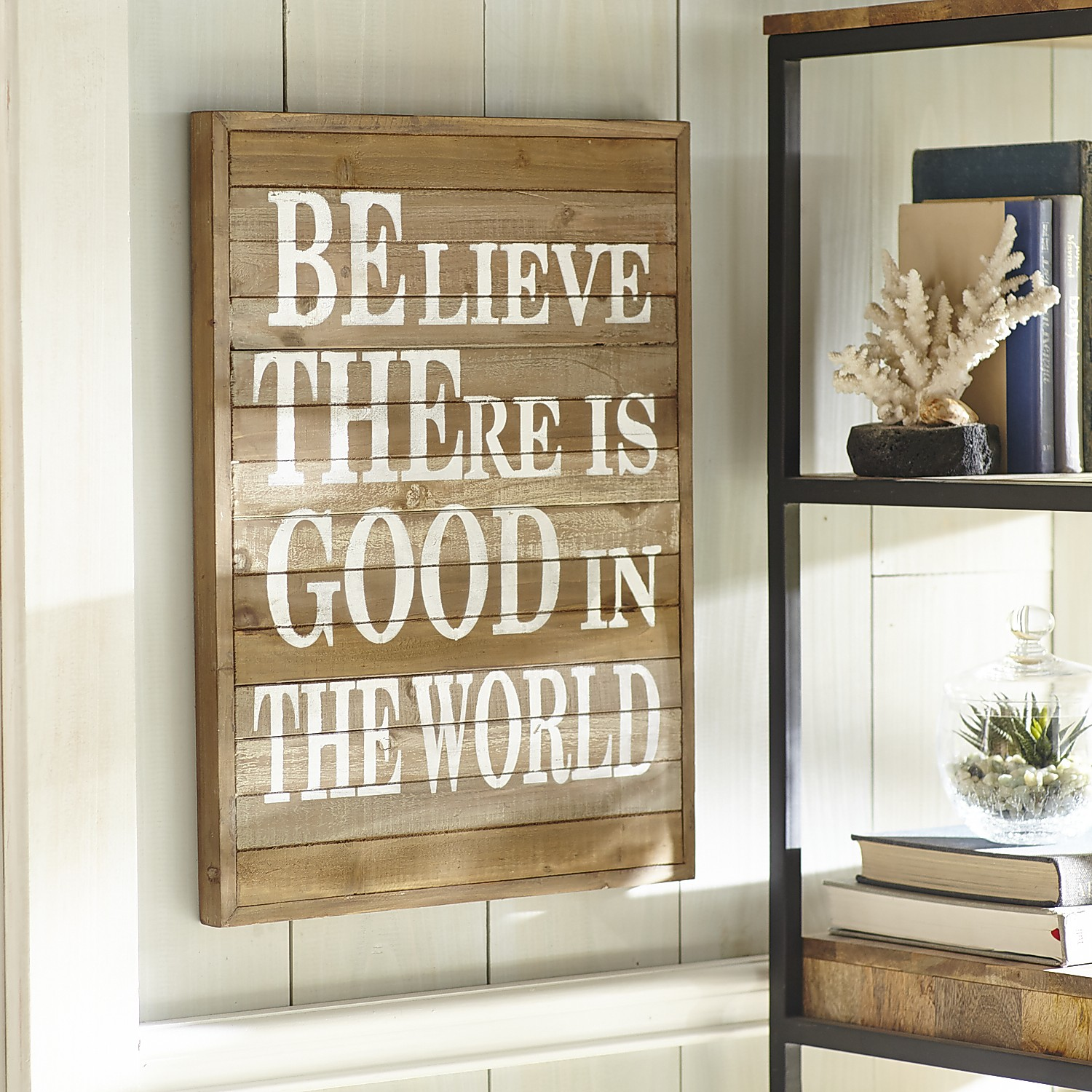 Believe Wall Decor