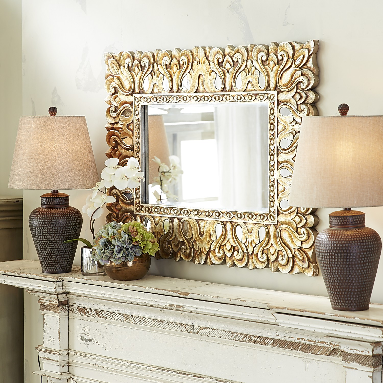Vilano Carved Mirror