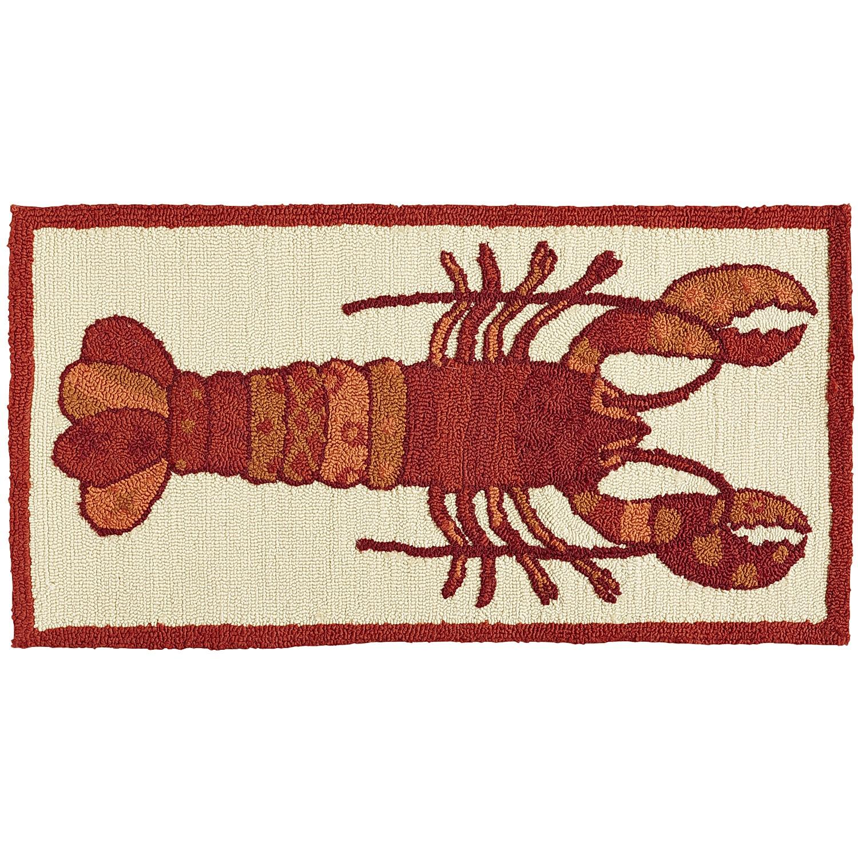 Lobster Red Rug