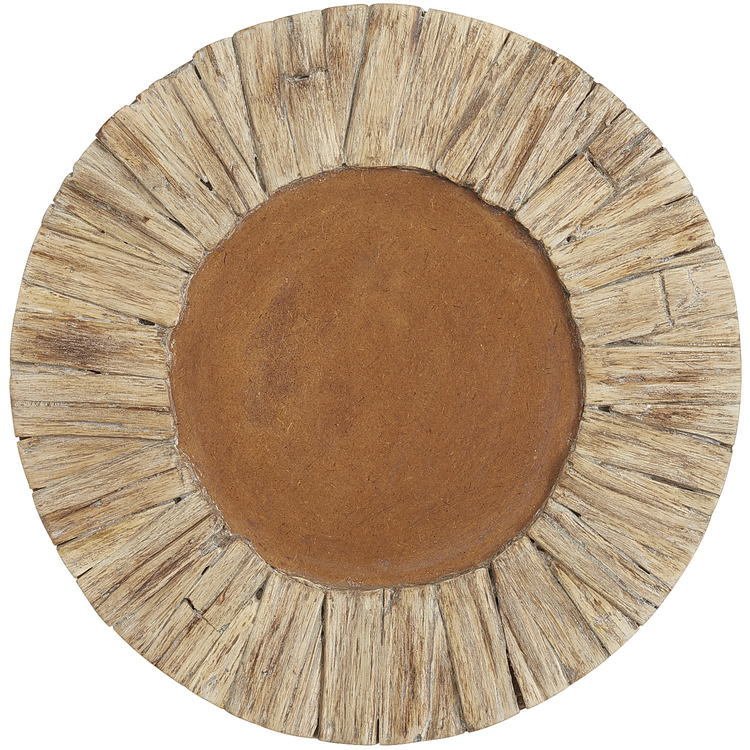 Driftwood Charger Plate