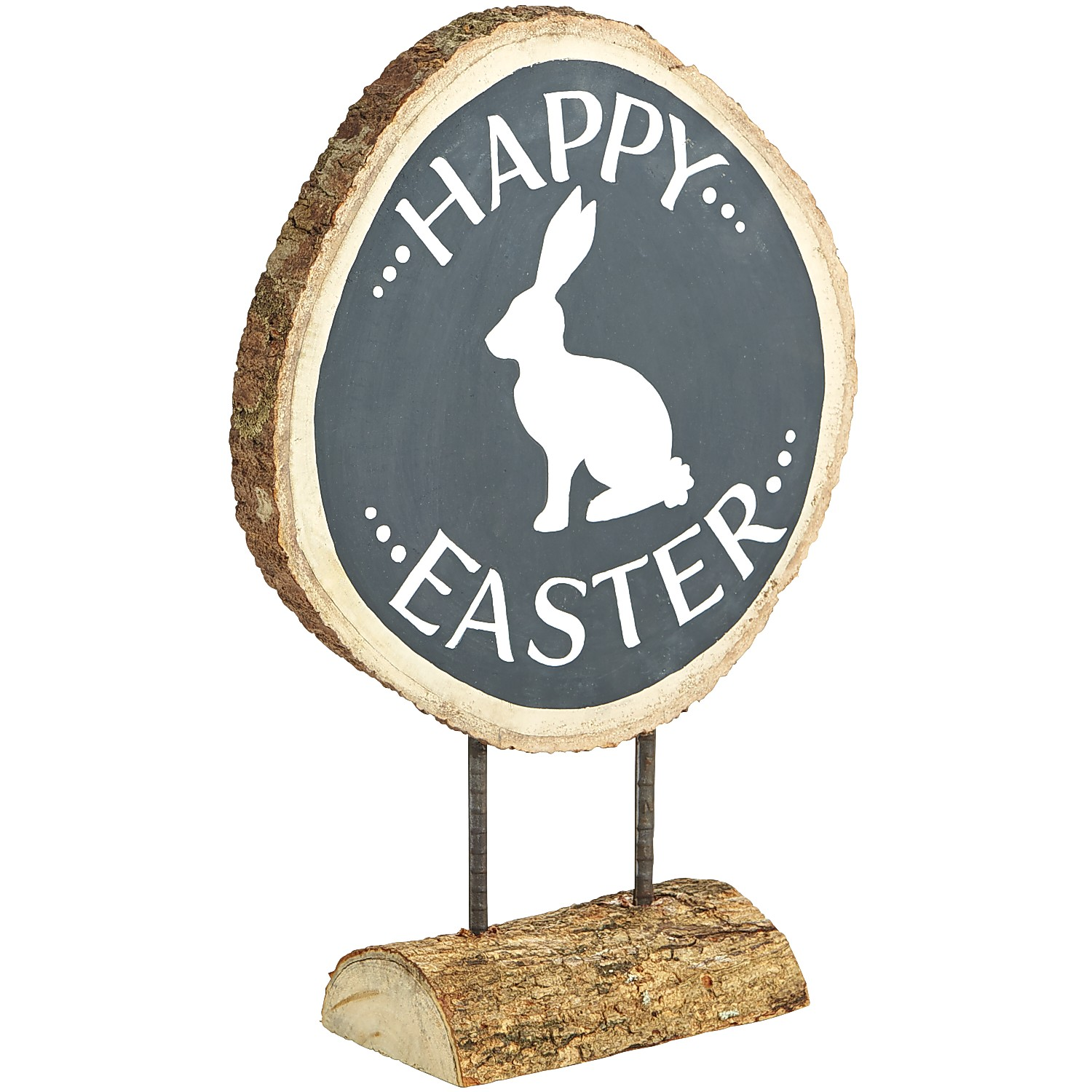 Happy Easter Bunny Wood Sign
