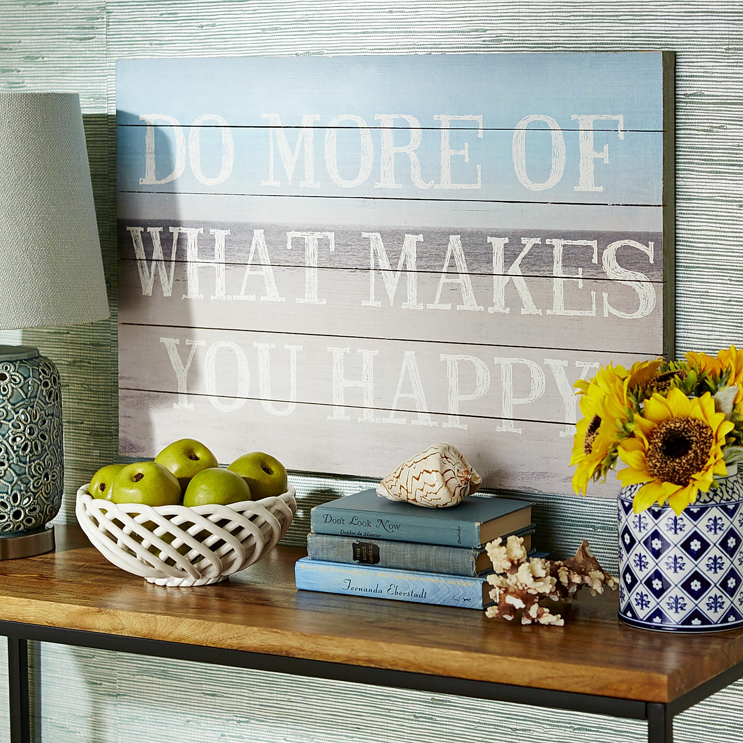 What Makes You Happy Wall Decor