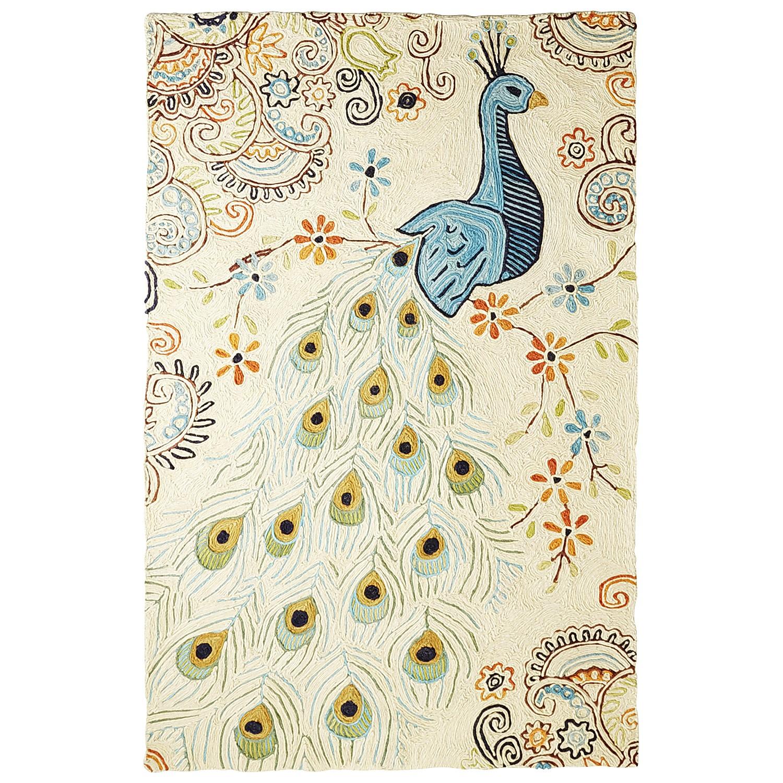 Regal Peacock Rug