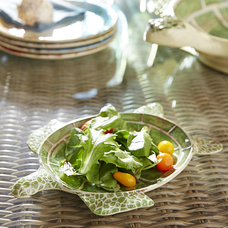 Speedy the Turtle Figural Melamine Salad Plate