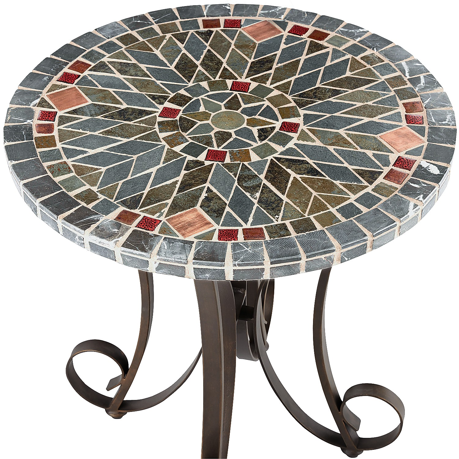 Verazze Mosaic Accent Table