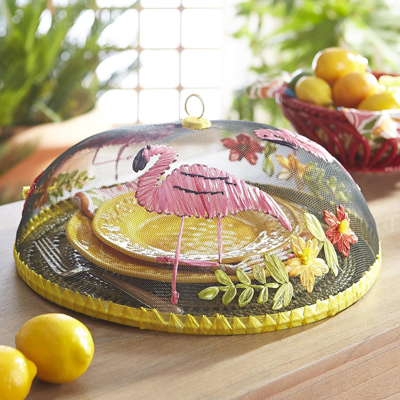 Fanni the Flamingo Food Cover