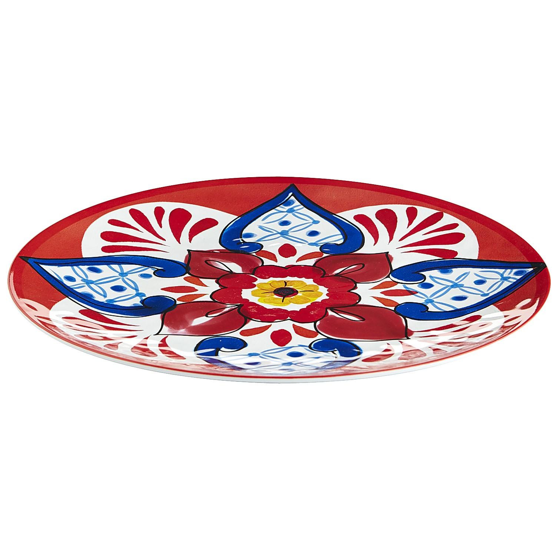 Baja Brights Melamine Serving Platter