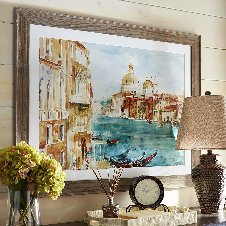 Venice Gondola Framed Art