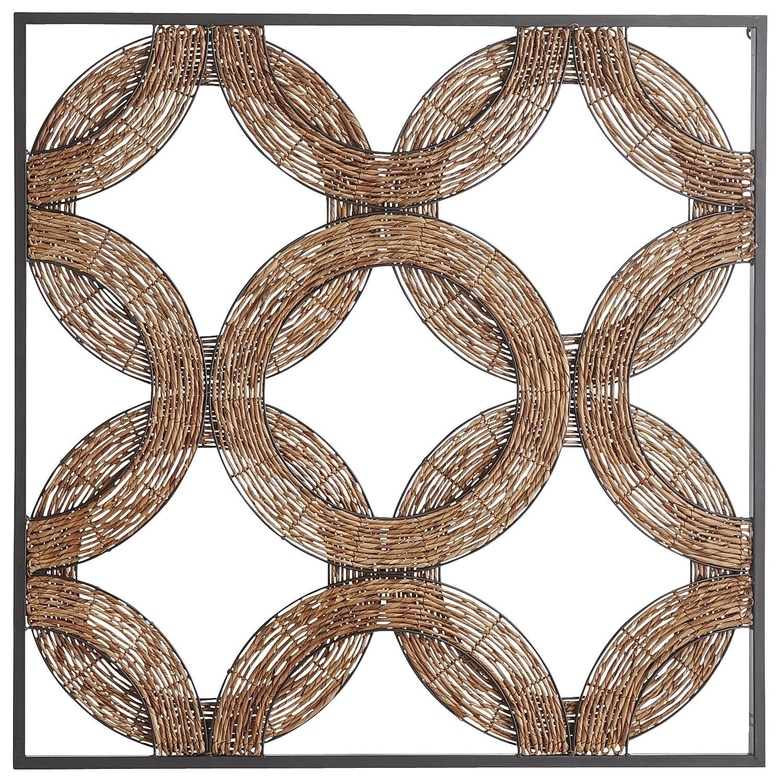 Woven Circles Wall Decor