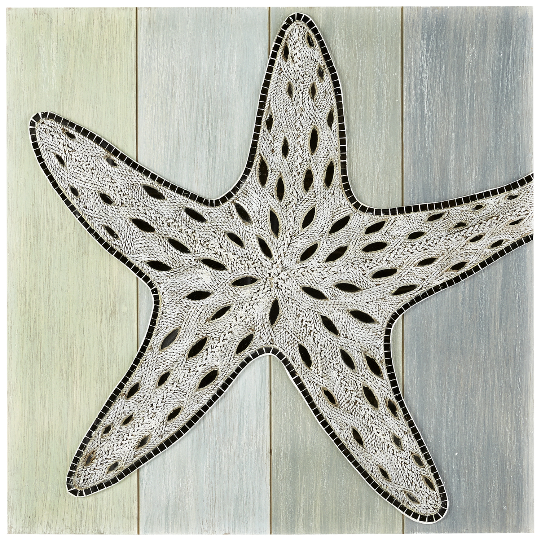 Embellished Starfish Wall Decor