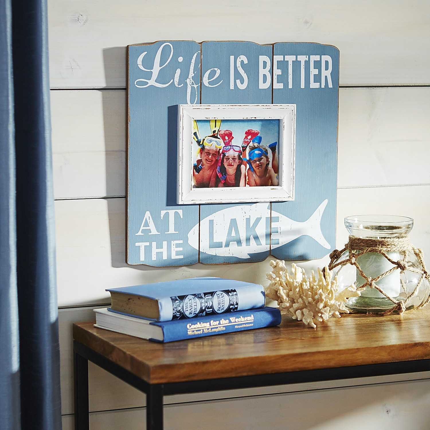 Life Is Better at the Lake Frame - 5x7