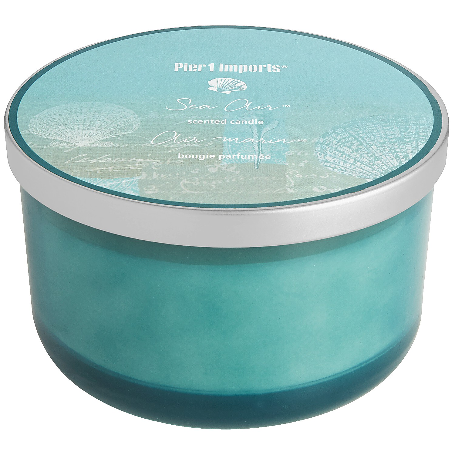 Sea Air™ Filled 3-Wick Candle