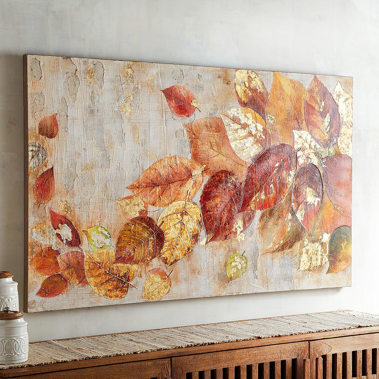 Tumbling Leaves Wall Art