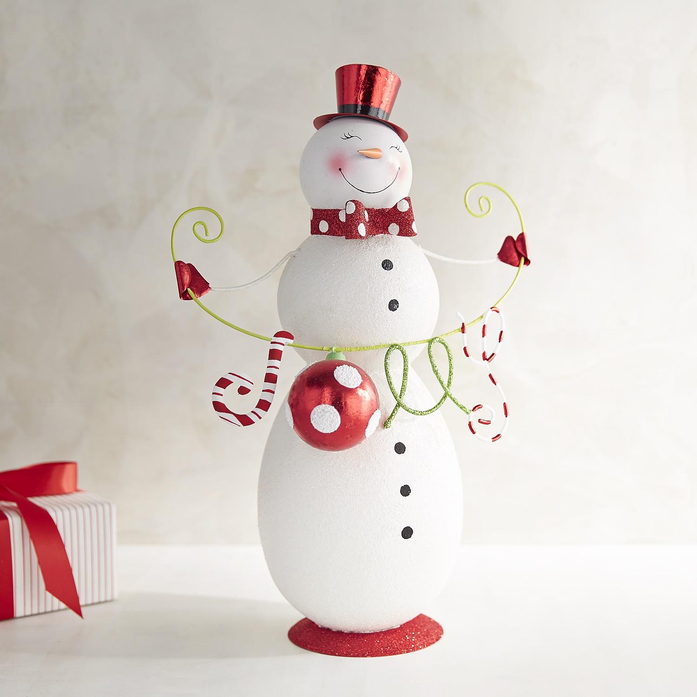 Glitter Jolly Snowman