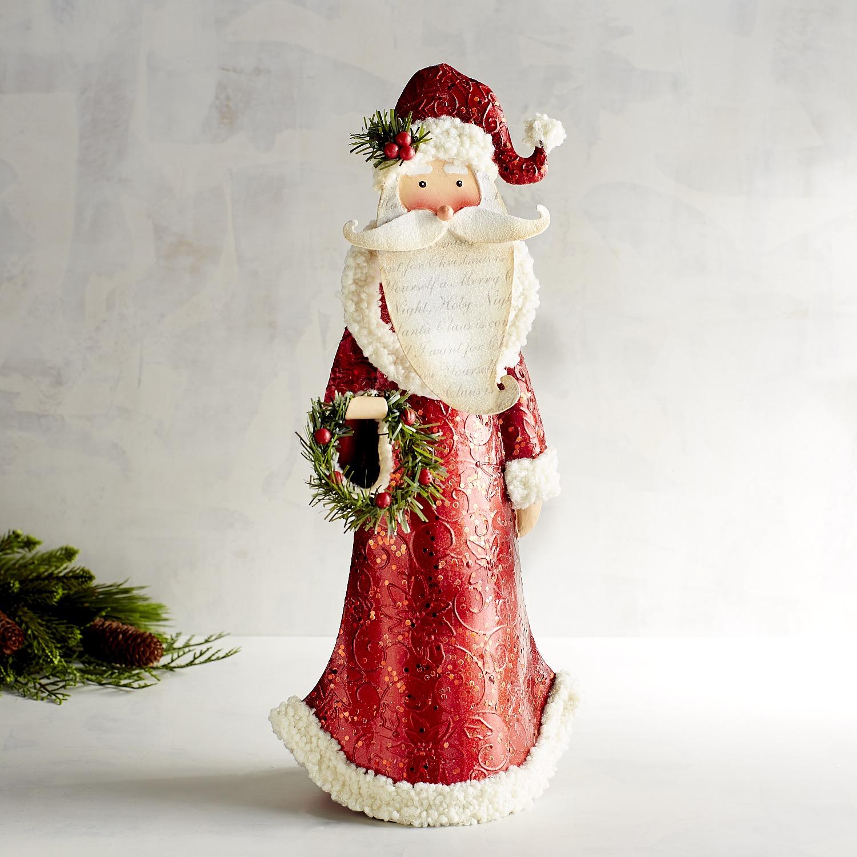 Metal Traditional Santa Claus