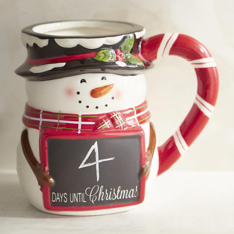 Snowman Chalkboard Mug