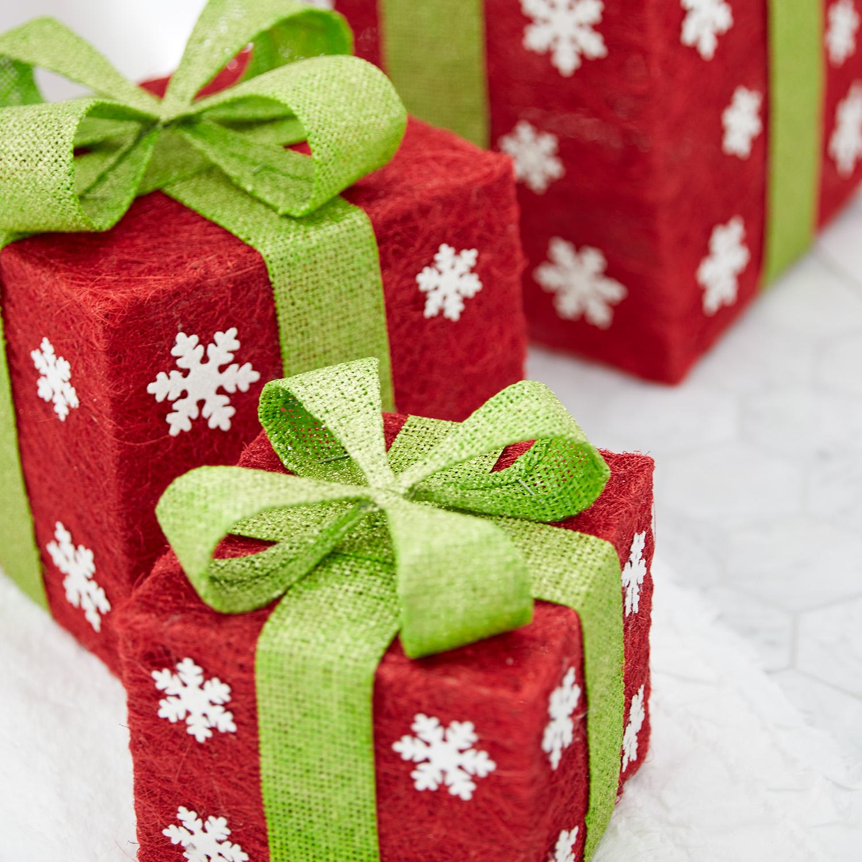 Sisal Snowflake Gift Box Set