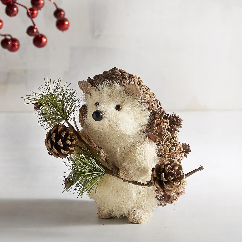 Natural Pinecone Hedgehog