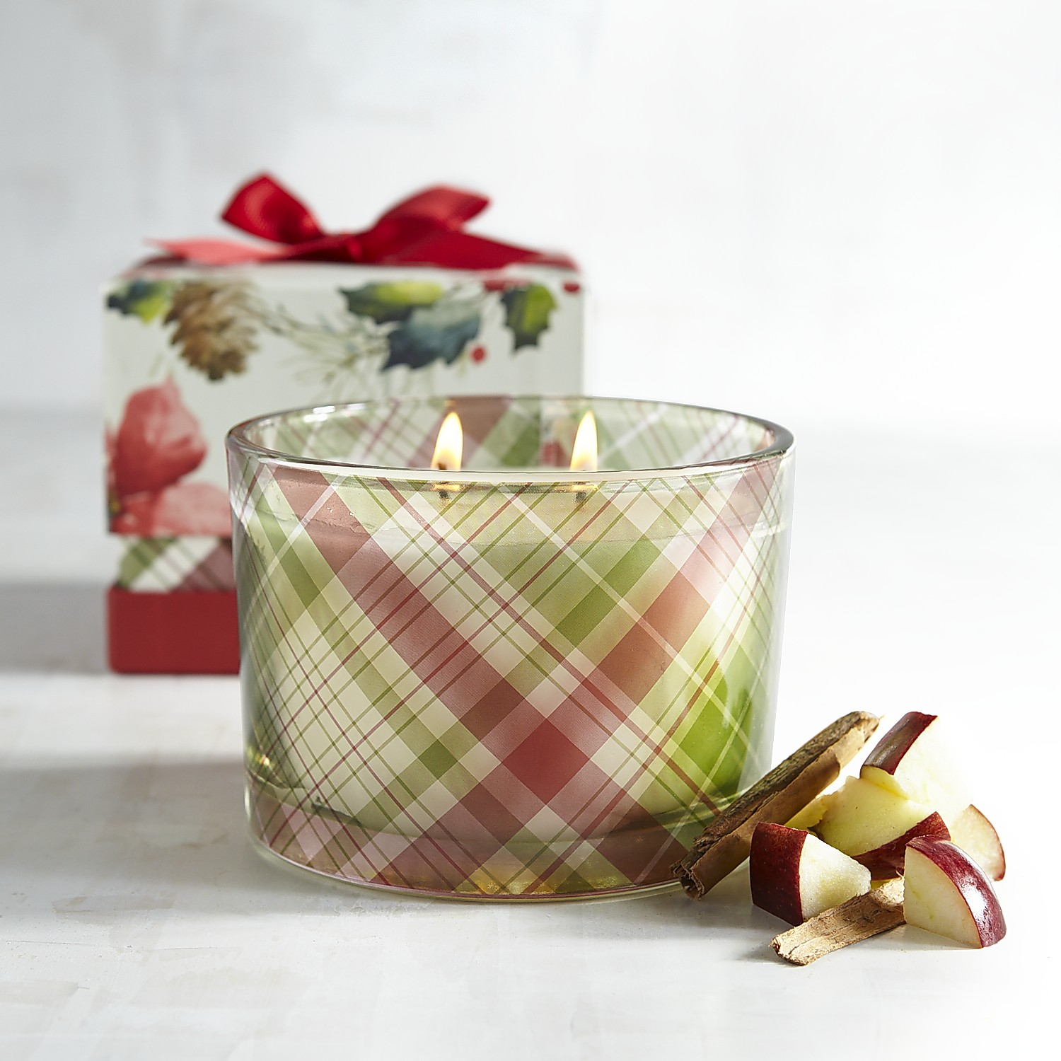 Apple Crisp Boxed Filled Candle