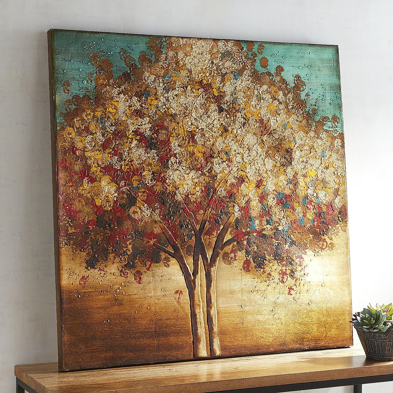 Sunset Tree Art