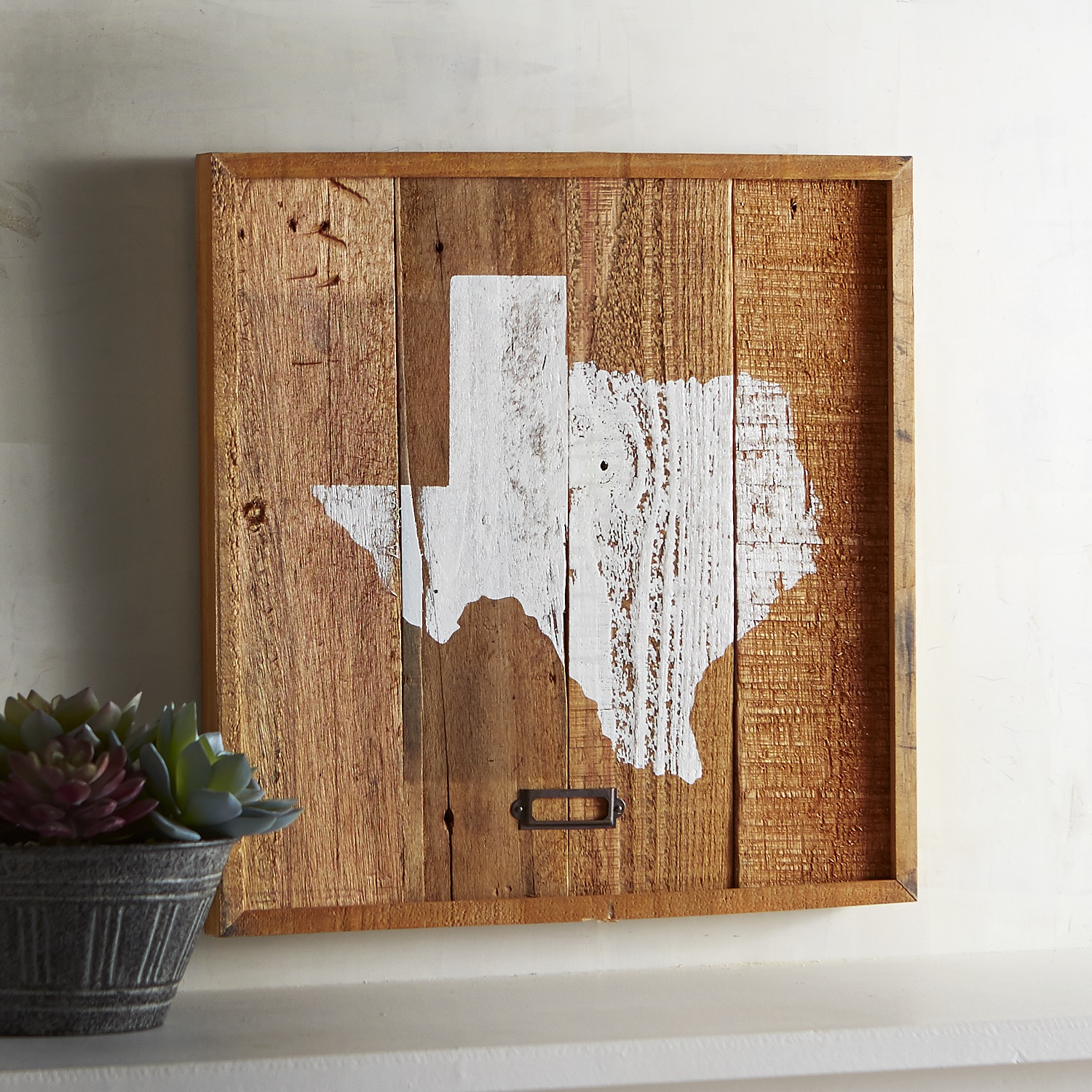 Rustic Texas Planked Wall Decor