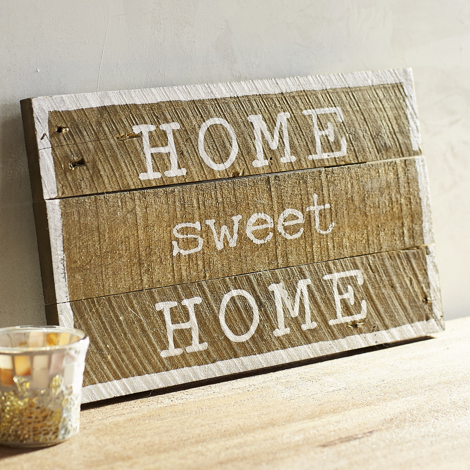 Home Sweet Home Planked Wall Decor