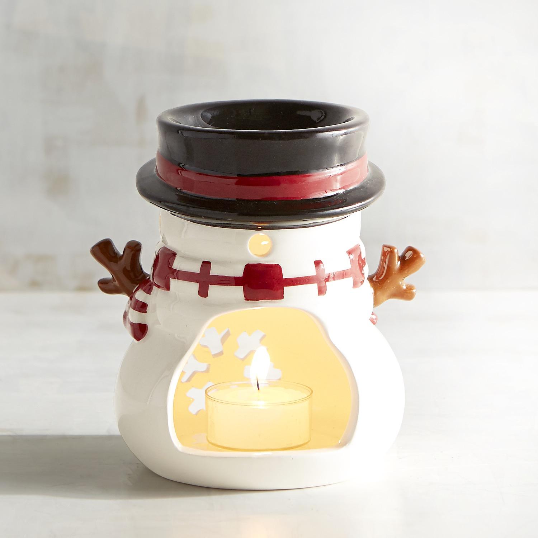 Snowman Oil Warmer