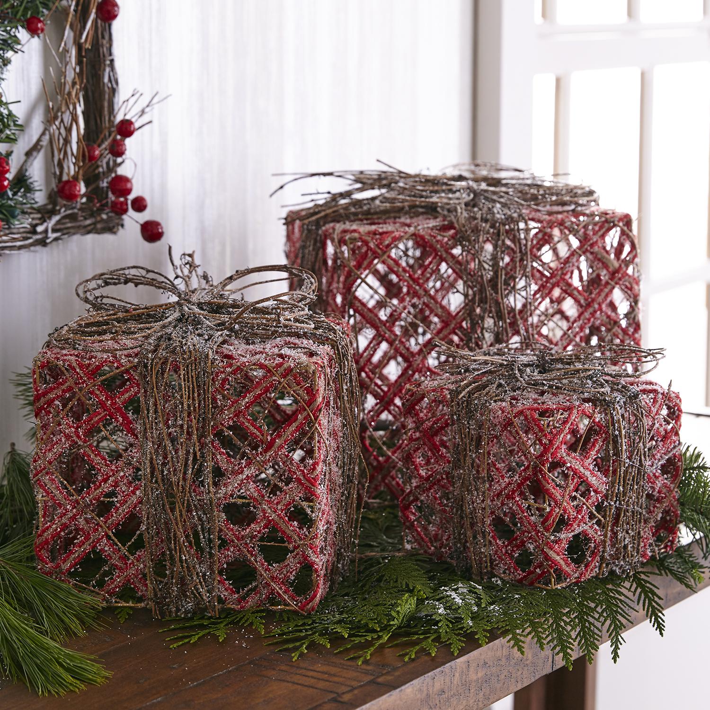 Rattan Gift Box Set