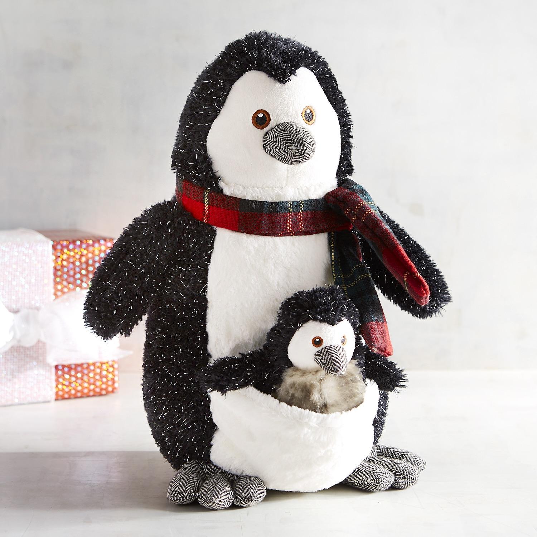 Blizzard & Paxton Penguin Stuffed Animals
